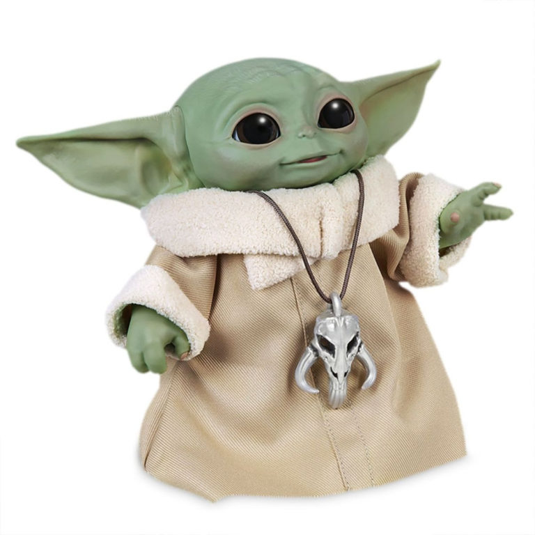 Action Figure Grogu Animatronic Star Wars di Hasbro
