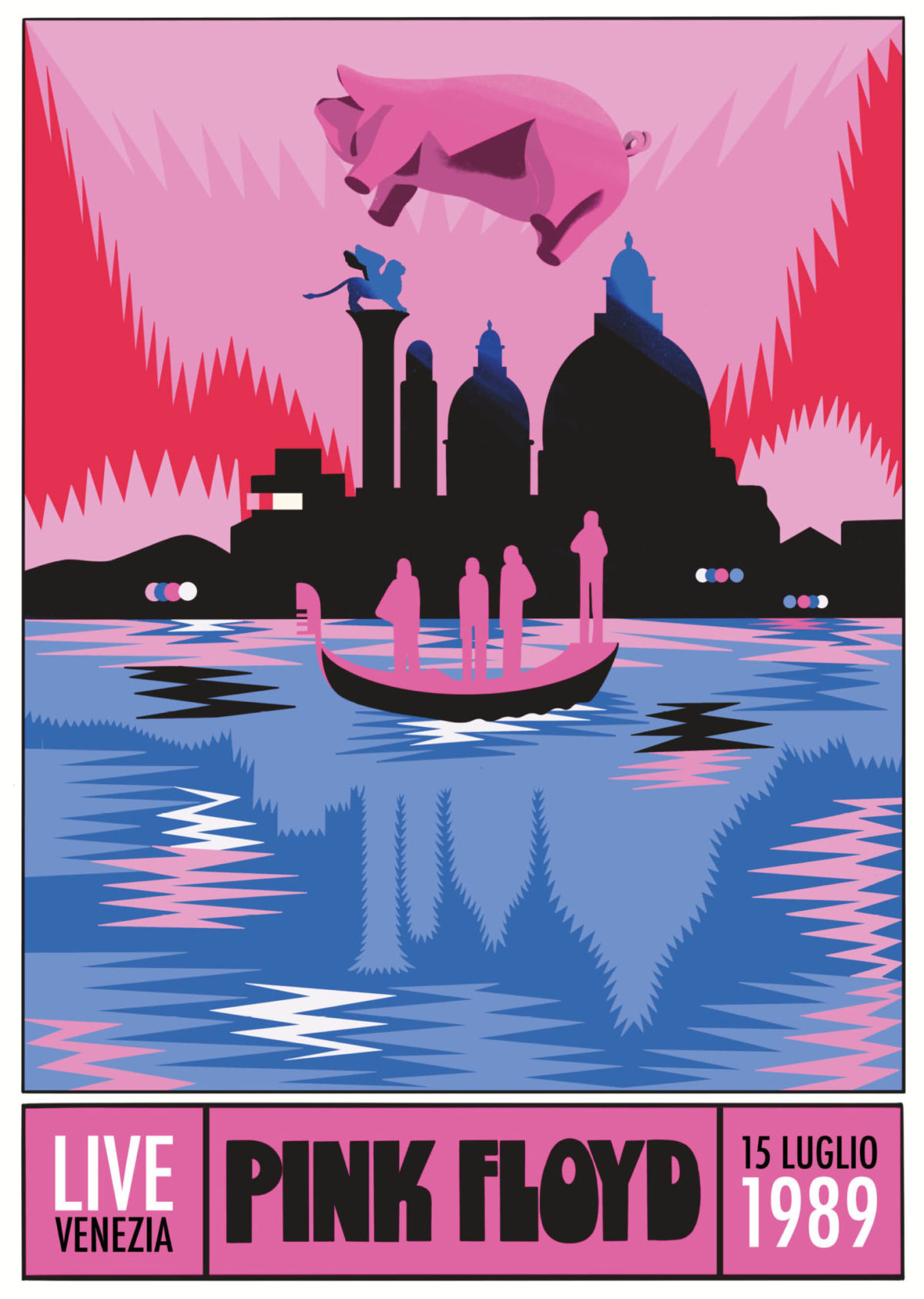 pink floyd poster fronte Pronostico