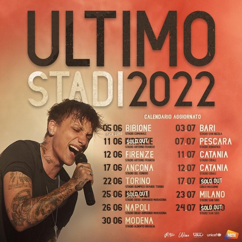 date Ultimo Stadi 2022