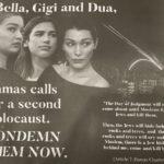 Dua Lipa e le sorelle Hadid accusate di antisemitismo