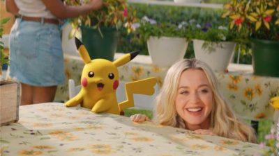 pikachu e katy perry nuovo singolo electric