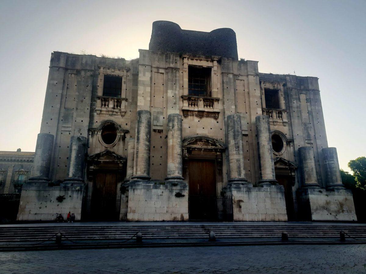 Catania Chiesa di San Nicolò L'Arena