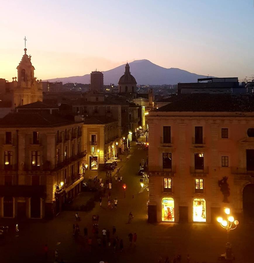 Catania vista della via Etnea