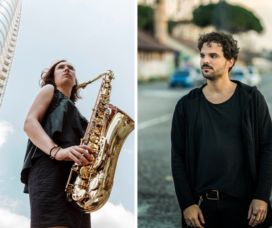 Sophia Tomelleri e Seby Burgio casa del jazz