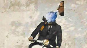 Murale di Mourinho