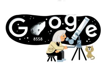 doodle google margherita hack