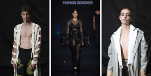 Explosion IED fashion show