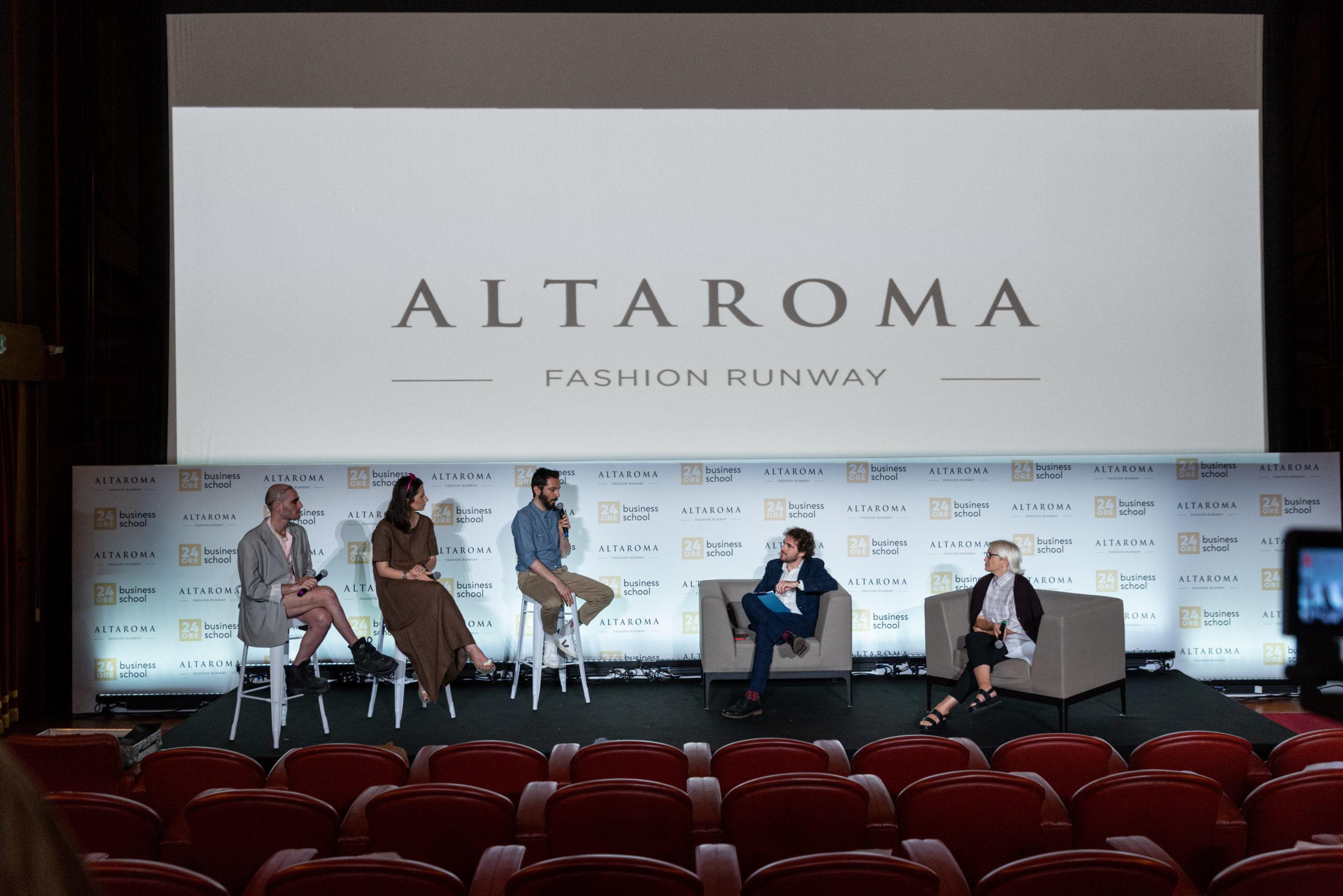 Altaroma Fashion Talk 7 luglio 2021