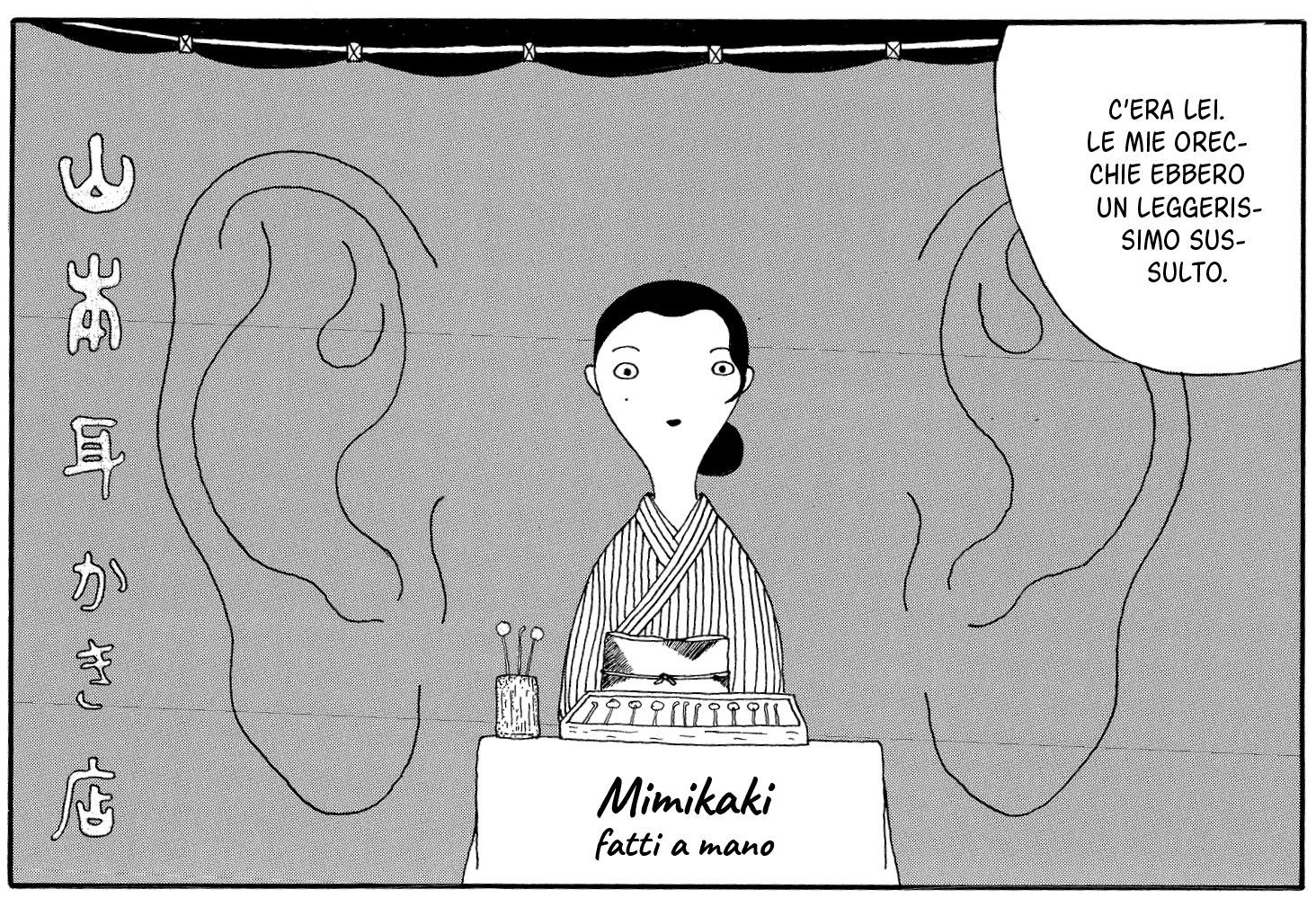 Mimikaki Tavola Yaro Abe