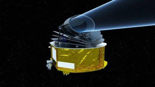 ariel telescopio asi