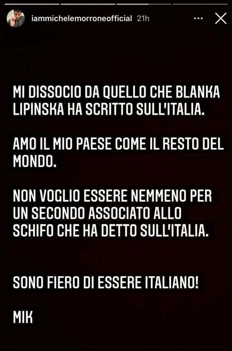michele morrone italia