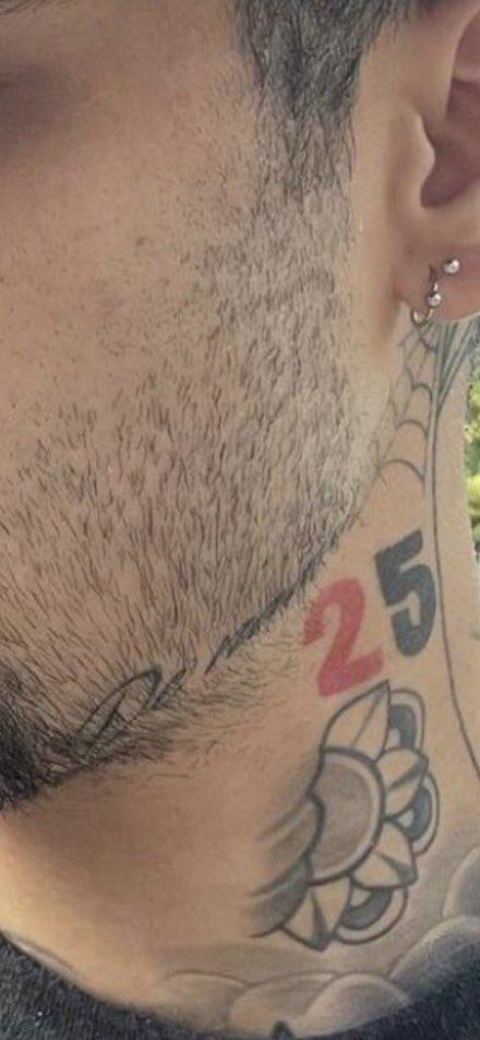 zayn malik tatuaggio