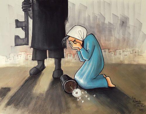 Shamsia Hassani street artist afghana