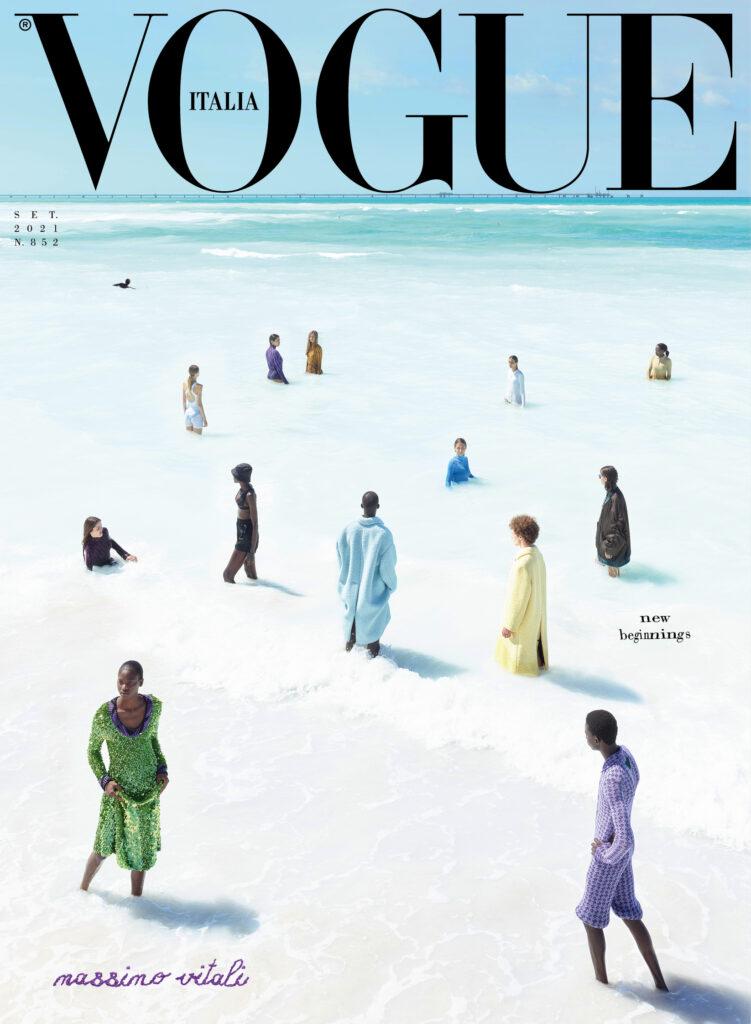 Vogue Italia settembre Massimo Vitali