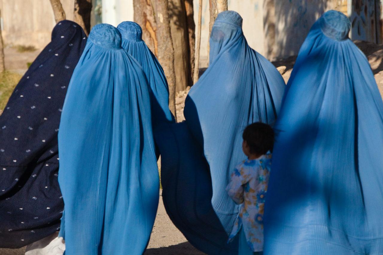 Burqua afghano