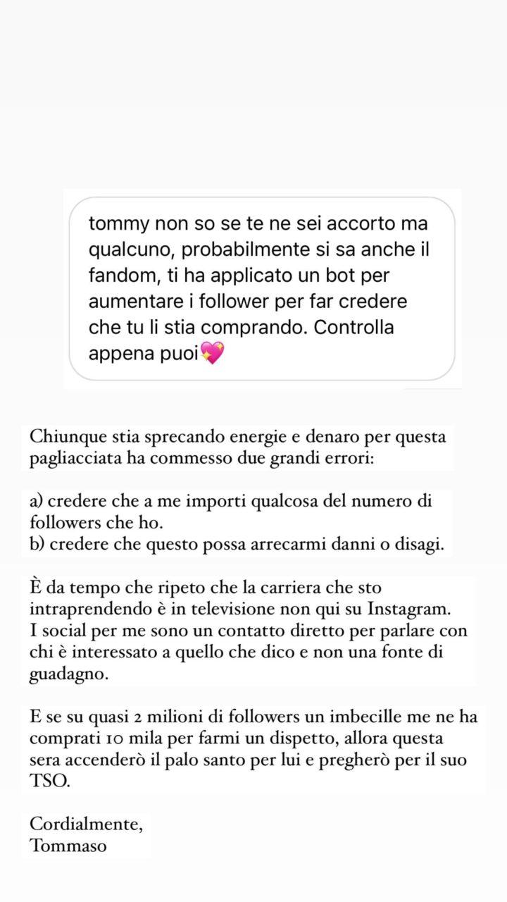 tommaso zorzi instagram