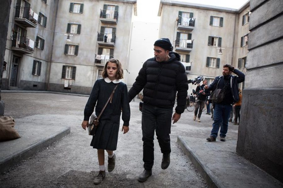 MBF_from left, Elisa Del Genio (young Elena) & Saverio Costanzo_photo by Eduardo Castaldo (Copy)