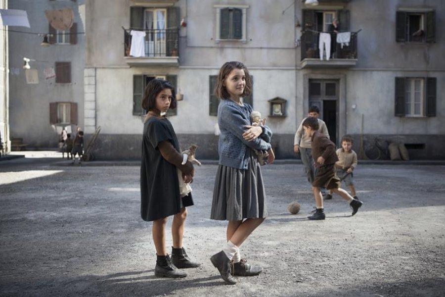 MBF_from left,Ludovica Nasti (young Lila) & Elisa Del Genio (young Elena) _Photo by Eduardo Castaldo #2 (Copy)