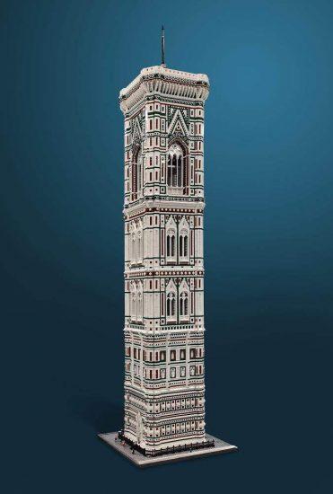 MOC - The tower bell of FlorenceÔÇÖs Duomo (100.000 bricks) (3)