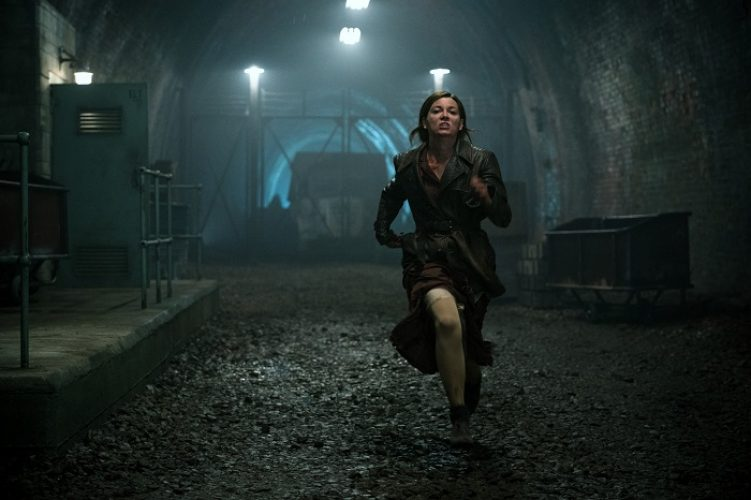 Mathilde Ollivier as Chloe in the film, OVERLORD by Paramount Pictures